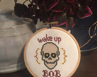 Wake Up Bob Cross Stitch