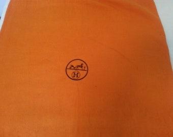 Vintage Hemès dust bag 49x52,5 cm aprox,Original kelly dust bag,Prada bag,Authentic birkin,kelly bag,Dust bag kelly,birkin dust bag,Hermes
