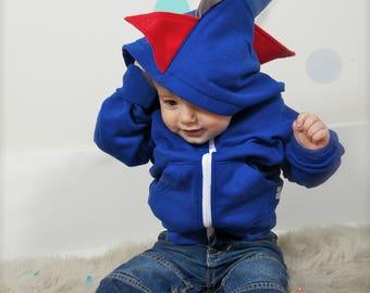 Dinosaur Costume, Dinosaur Hoodie, Baby Dragon Costume, Dress Up Clothes, Dinosaur Party, Boy Birthday Gift, Dinosaur Gifts, Birthday Gift