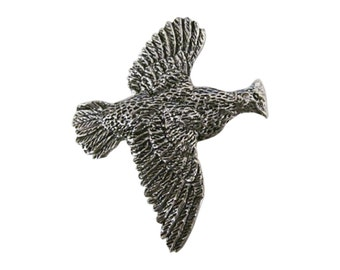 Premium Grouse Flying ~ Lapel Pin/Brooch ~ B029PR,BC030,BP029PR
