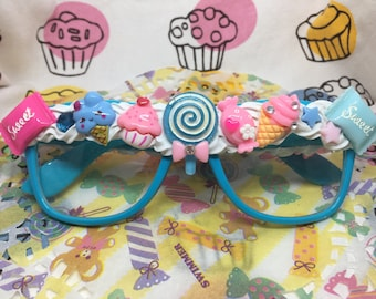 Blue Decoden Glasses