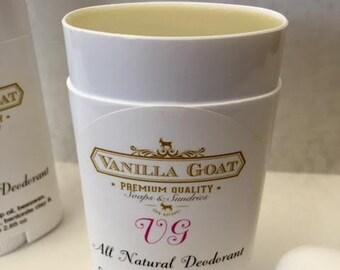 All Natural VG Deodorant