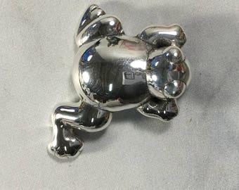 925  Sterling Silver frog