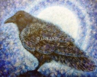 Corvus Corax (Raven) Card