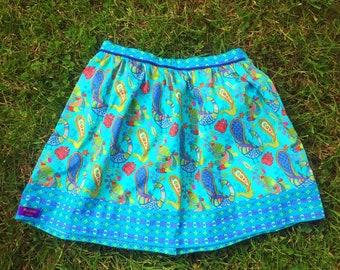 Blue girl 8 skirt