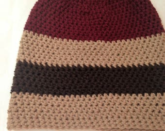 Color blocked beanie