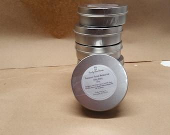 Beeswax Facial Moisturizer (4 oz Tin) / Homemade / Almond Oil / Vitamin E  / Lotion / Dry Skin Lotion /