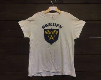 Vintage 70er Jahre Schweden Hanes-t-Stück