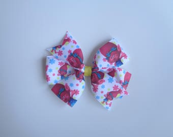 Trolls princess poppy hair bow