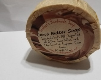 Chocolate Cocoa Butter Soap