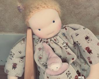 16 inch classic Waldorf Doll,  Waldorf toy, Handmade doll, Waldorf baby