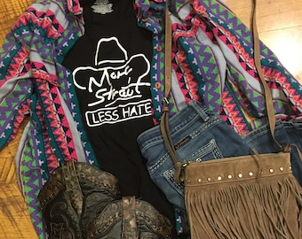 More Strait Less Hate tee