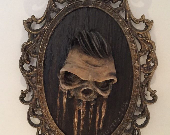 Greaser Skull Artwork
