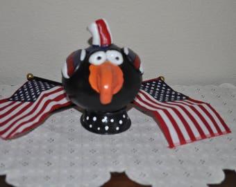 Patriotic Crow