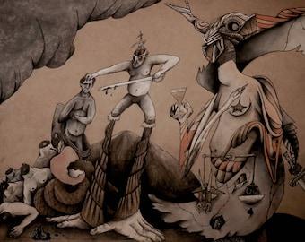 "Judgment of Nemesis"" Print"