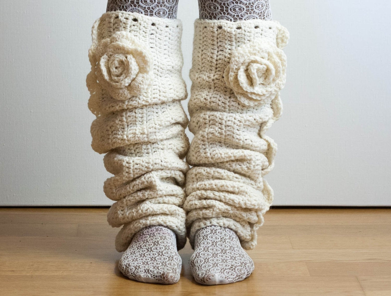 CROCHET PATTERN instant download Seven League Leg Warmers
