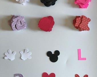 Minnie Mouse Party Confetti