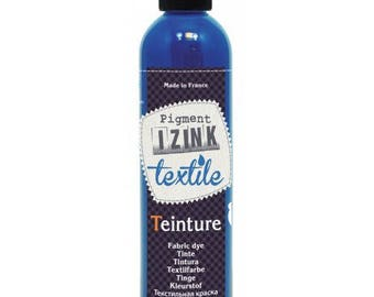 Dyeing textile blue best Made in France 180 ml