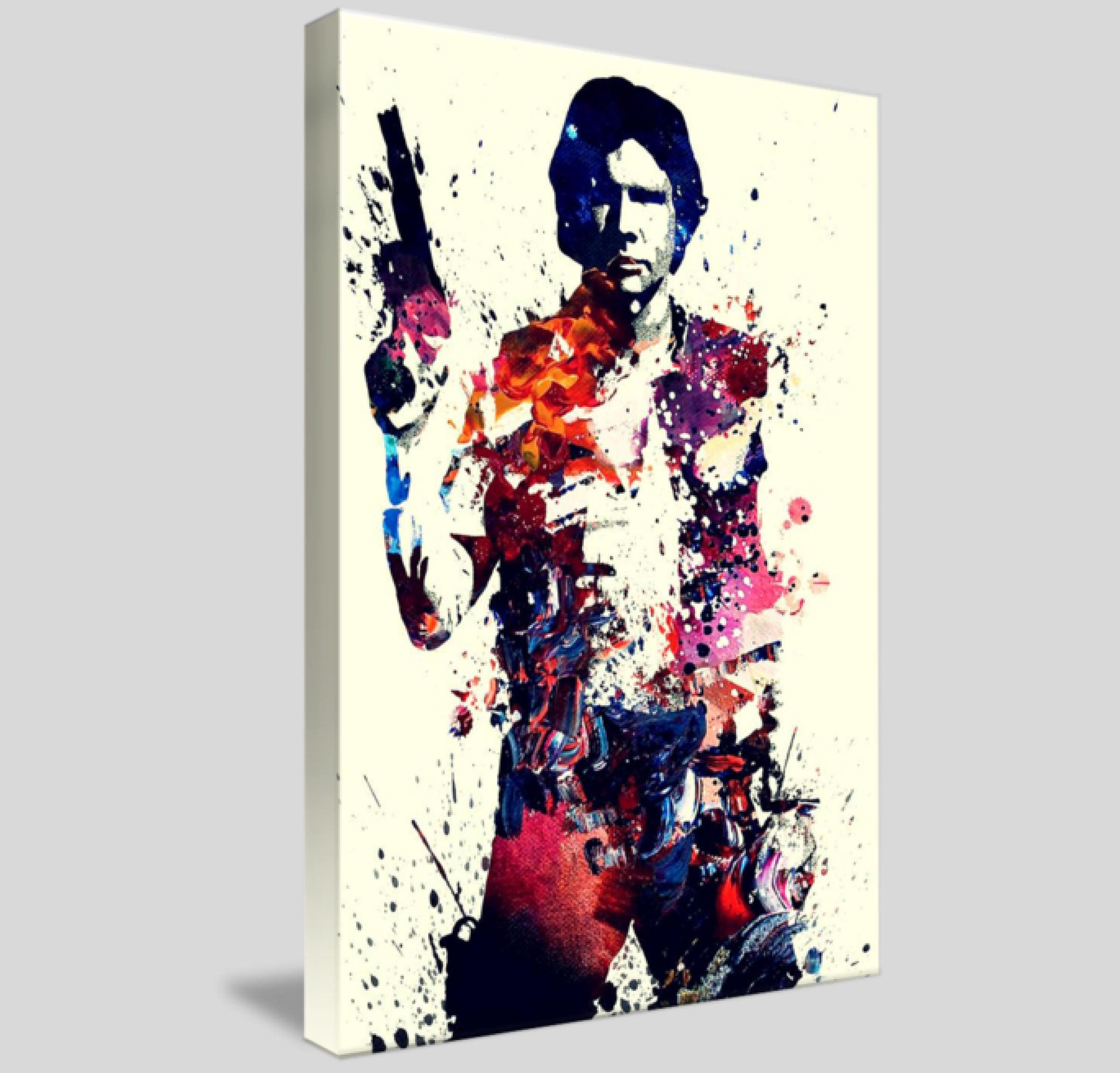 Charmant Gerahmte Star Wars Plakat Bilder - Benutzerdefinierte ...