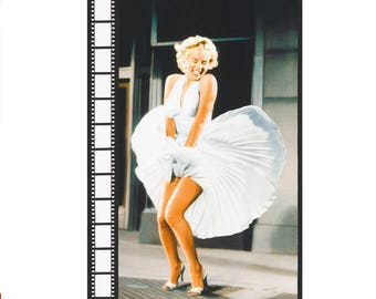 Marilyn Monroe Panel from 7 Year Itch Movie Robert Kaufman Fabric Pop Culture Glam