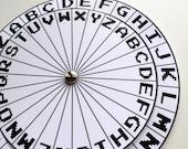 Spy Decoder Cipher Wheel ...