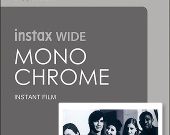 NEW Best Price! Fujifilm Instax Wide Monochrome Film - FAST SHIPPING!!!