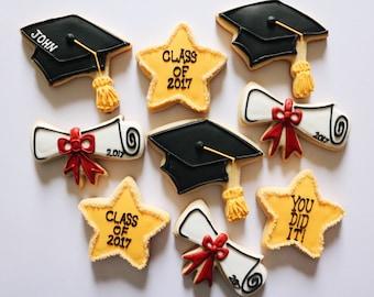 Graduation Cookies - 1 Dozen