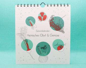 Seasonal Calendar Domestic Fruit & vegetables