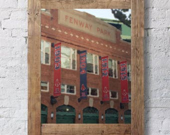 fenway park - red sox - red sox watercolor - boston red sox - boston - red sox art - baseball art - red sox fan - yawkey way - red sox gift