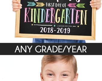 First Day School Signs
