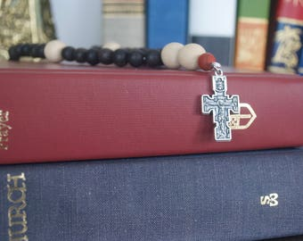 NEW Anglican Rosary | Prayer Beads | Ebony Wood and Whitewood