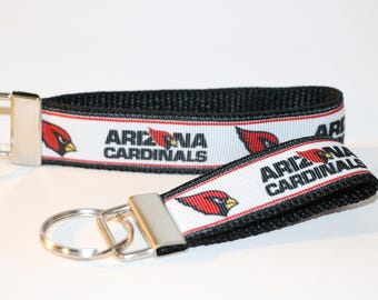 ARIZONA CARDINALS NFL Football Team Key Fob Rings in Minis and 10""