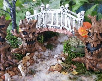 Miniature Scary Trees - Set of 3