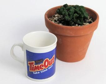 Kiln Craft 'Time Out' White Mug