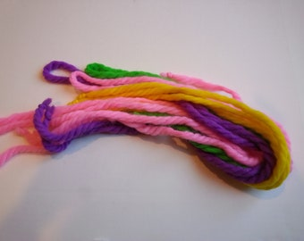 Vintage yarn ribbon for gift  wrapping