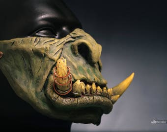 Mask orc warcraft guldan Gul'dan Cosplay Cosplay Mask Warcraft Mask Gul'dan cosplay World of warcraft