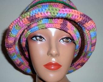Diptastic, Crochet Brim Cap