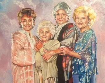 Pals and Confidants: A Golden Girls tribute, Art Prints