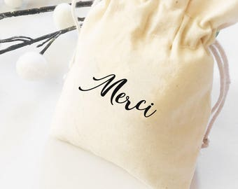 Merci favor bags, french favors, french wedding, french theme party, wedding destination, merci favor, Thank you favor, french favors