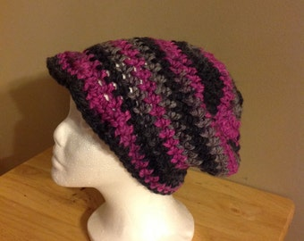child size slouchy newsboy beanie