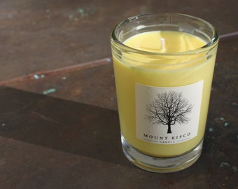 YELLOW Pineapple Soy MAGIC CANDLE
