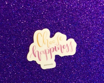 Choose Happiness Sticker