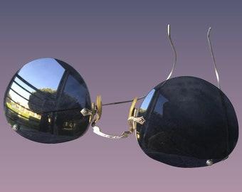 Vintage Gold Filled COC 1-10-12 k g f Sunglasses 1930's.