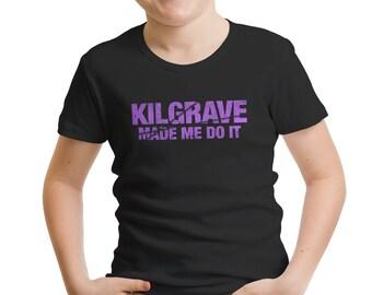 """Jessica Jones Inspired """"Kilgrave Made Me Do It"""" Boys' T-Shirt"""