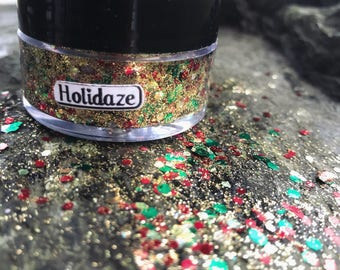 Cosmic Sparkles Glitter Gel - For glitter beard, face, cyber buns, and more!