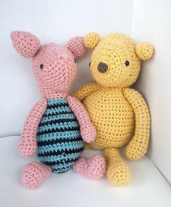 Pdf Crochet Pattern Amigurumi Besties Set