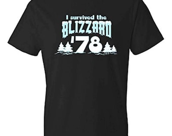 I Survived the Blizzard of '78 T-shirt | Winter Tee