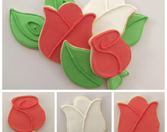 Flower Cookies 2 (Gluten Free Available)