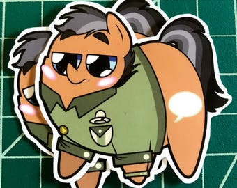 Pony Chubs! Quibblepants Sticker