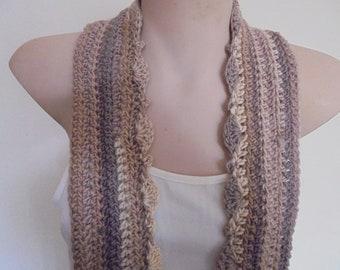 OOAK crocheted scarf